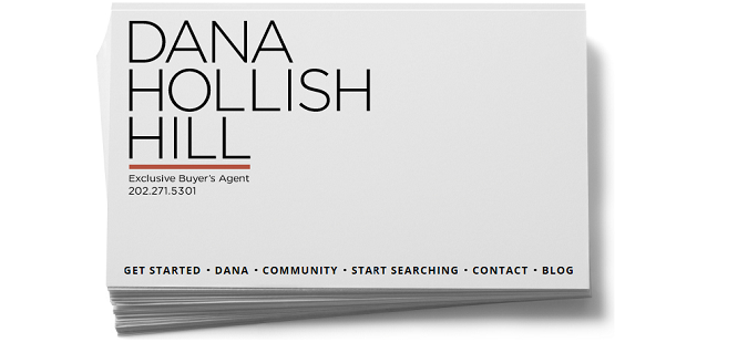 Dana Hollish Hill Business Card