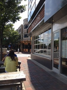 Exterior Shot of Taylor Gourmet Deli in Bethesda Maryland