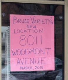Bruce Variety is Moving