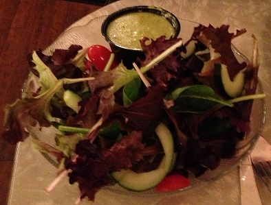 Cafe Hon Side Salad with dill dressing