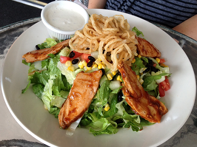 BBQ Chicken Salad from Wild Tomato