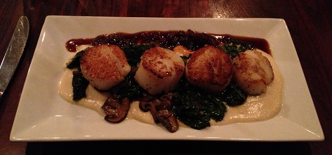 Scallops Special from Wild Tomato
