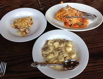 Three Small Plates at Sugo Cicchetti