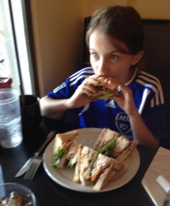 Brooklyn Deli's Turkey Club
