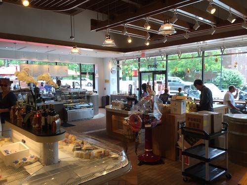 Inside Westover's Italian Store