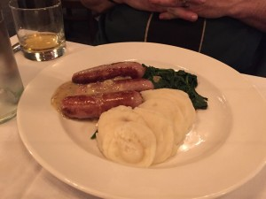Lahinch Bangers and Mash