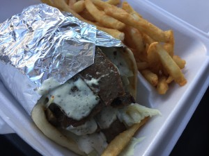 Gyro Combo from Gyro Factory in Lorton, VA